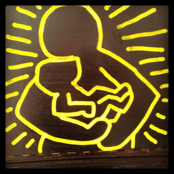 20130304-pictures-madonna-instagram-keith-haring