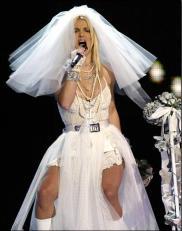 Britney Spears en los MTV VMA 2003