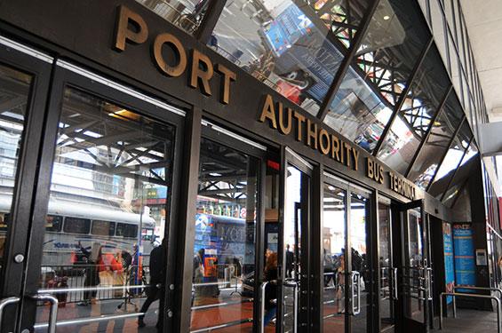 """Port Authority"" terminal de buses"