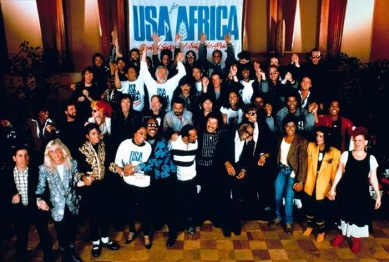 """""""Band Aid"""" USA"""