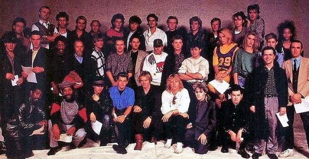 """""""Band Aid"""" UK"""