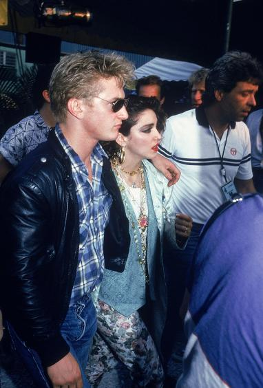 Actor Sean Penn and wife, singer Madonna. (Photo by Time Life Pictures/DMI/Time Life Pictures/Getty Images)