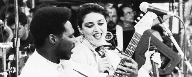 Madonna y Nile Rodgers