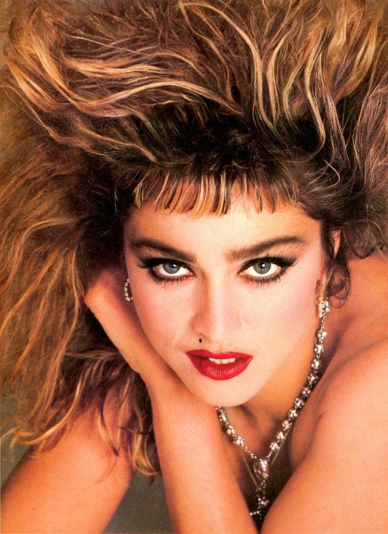 Madonna Francesco Scavullo 1985 Time