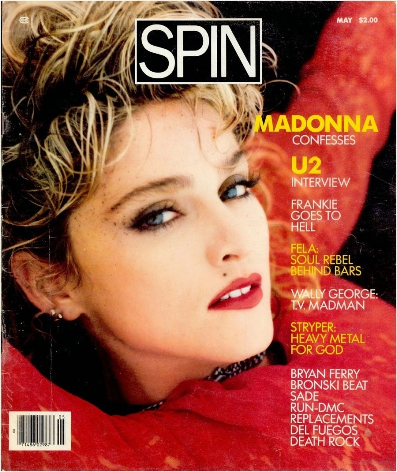 madonna spin magazine in terview 1985 1
