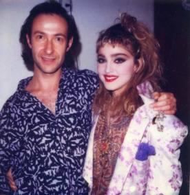 Con Harry King (maquillador)