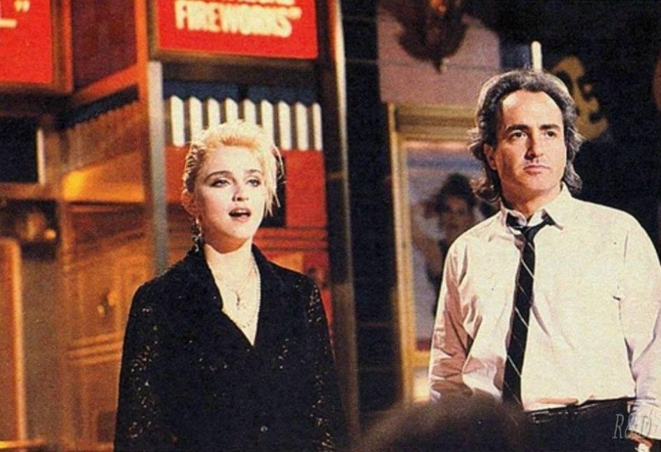 Madonna y Anthony Michael Hall