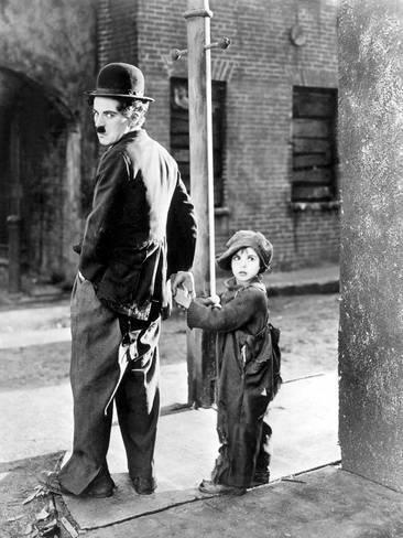 """Charles Chaplin en """"The Kid"""""""
