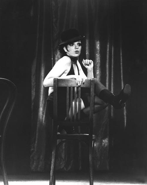 "Liza Minelli en ""Cabaret"""
