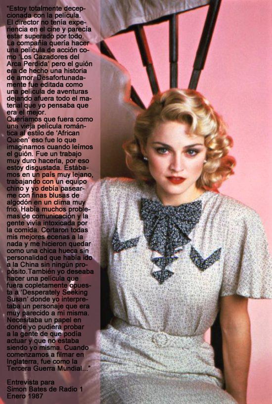 Shangai Madonna opinion