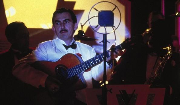 Harrison durante su cameo en el film