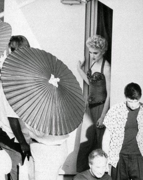 """Madonna en la sesión para """"Mitsubishi"""""""