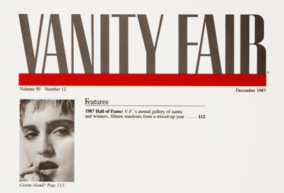 Vanity Fair USA December 1987 page 4 preview 400