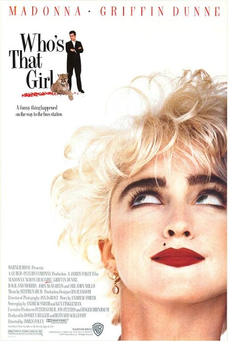 """Who's That Girl"" Movie"