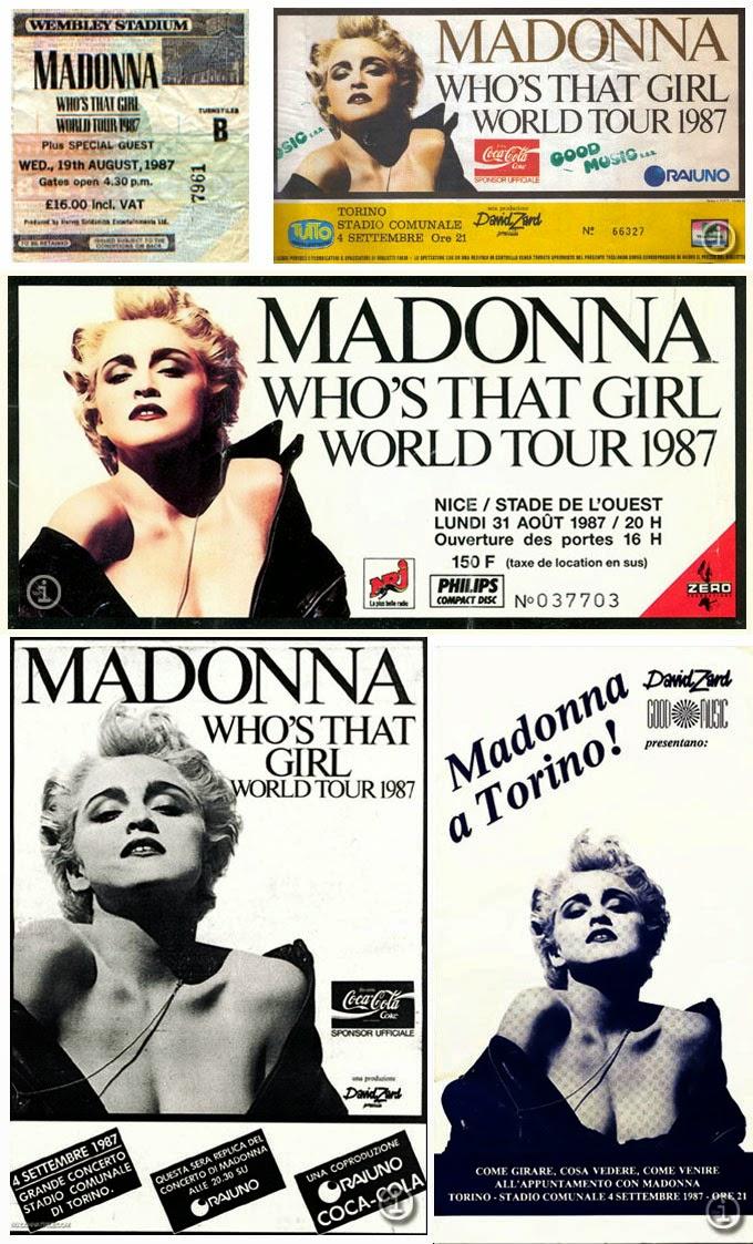 1987 Who's That Girl Tour