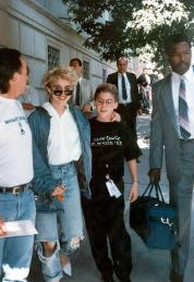 Madonna y Finch en 1987
