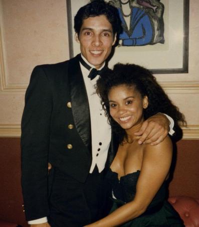 Angel Ferreira y Niki Haris