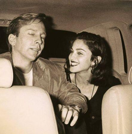 Madonna y Jeffrey Hornaday
