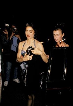 """Premiere de """"Speed the Plow"""" 1988"""