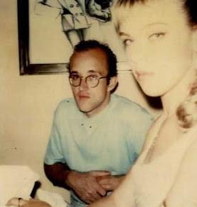Mazar y Keith Haring 1983