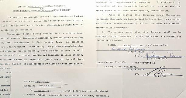 Primer pedido de divorcio de 1987
